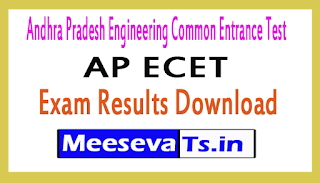 AP ECET Exam Results Download 2019