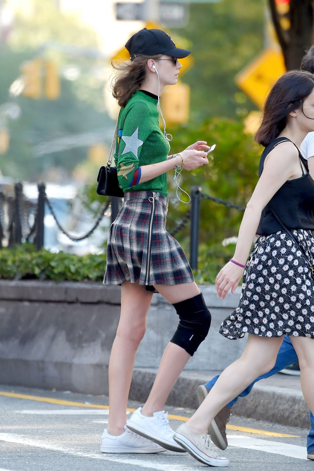 Milagros Schmoll out and about In NY City