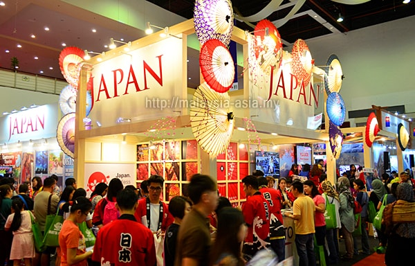 Matta Fair Japan Tourism Booth