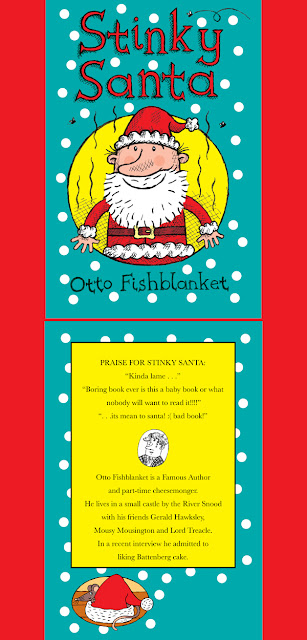 picture of stinky santa christmas book for kids