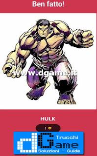 Soluzioni Ultimate Comics Quiz livello 8