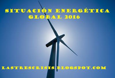 Situación energética global 2016