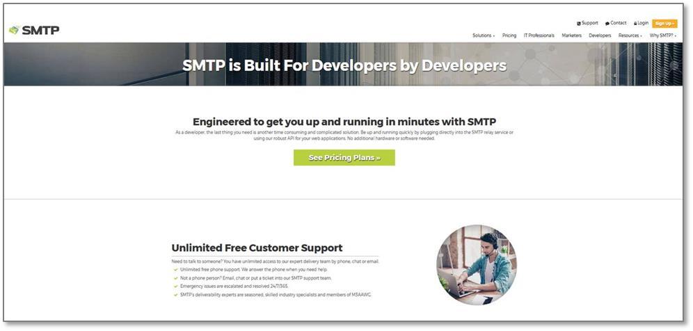 Campaigner Brand, SMTP com, Gets a Website Makeover!