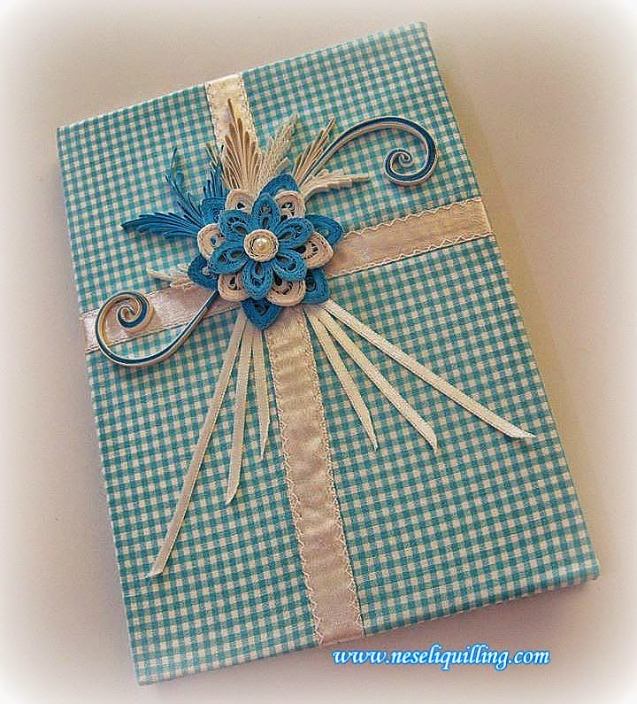 quilling notebook