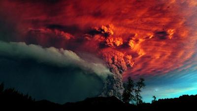 Erupción supervolcán Campi Flegrei