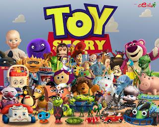 Karakter Kartun Toy Story