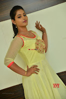 Teja Reddy in Anarkali Dress at Javed Habib Salon launch ~  Exclusive Galleries 008.jpg