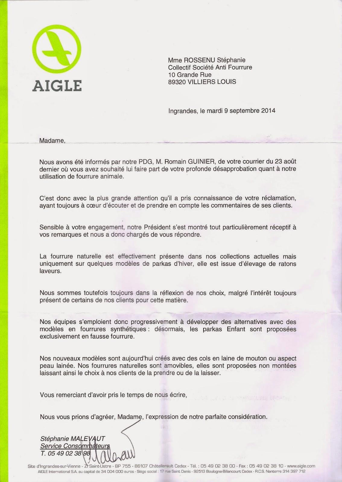 01a7cebf24539 Société Anti-Fourrure: septembre 2014