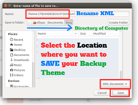How to edit blogger template xml download xml blogger theme to computer maxwellsz