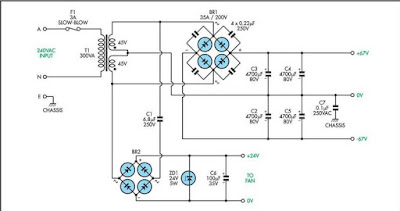 Power Supply / Regulator Circuit Diagram