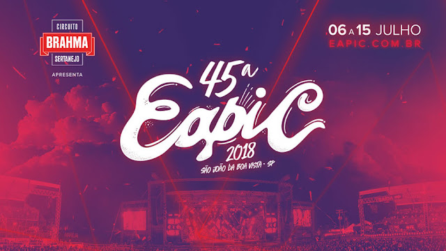 EAPIC confirma grade de shows com Jorge & Mateus, Alok e Henrique & Juliano