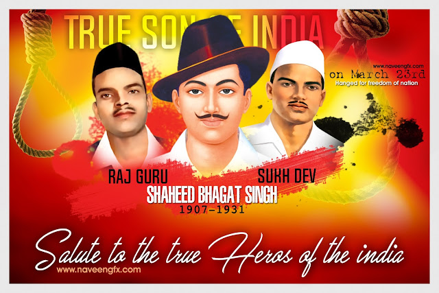 bhagat-singh-rajguru-sukh-dev-vardanthi-death-day-march-23rd-biography