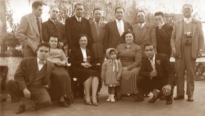 Comida en Viladecavalls en 1957