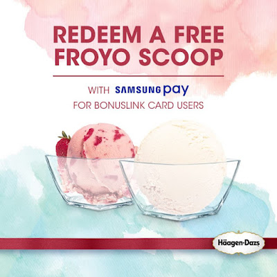 Free Häagen-Dazs Froyo Scoop Samsung Pay