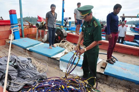 Thủ phạm đam chìm tàu cá Quảng Ngãi là tàu Trung Quốc