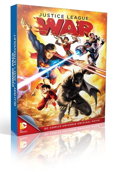 Justice League: War 1080p HD Latino Dual