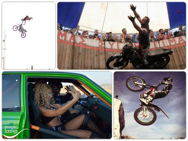 Οι «ιπτάμενοι» και τα… τέρατα στο 9ο Motor Festival των Ιωαννίνων