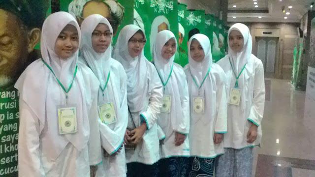 Panitia Pembacaan Shalawat Nariyah di Masjid An-Nahdlah, Gedung PBNU