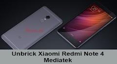 Cara Unbrick Xiaomi Redmi Note 4 Mediatek Dari Bootloop / hardbrick / Mati total
