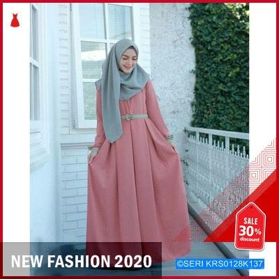 KRS0128K137 Revalina Dress Terbaru BMGShop