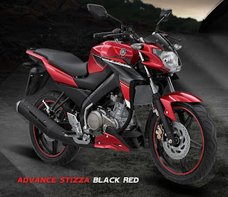 Yamaha Vixion Advance Stizza Black Red