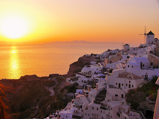 Santorini, Oia, Santorini zachód słońca, Sunset