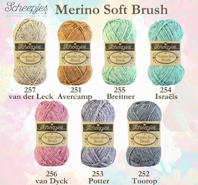 free crochet pattern merino soft brush