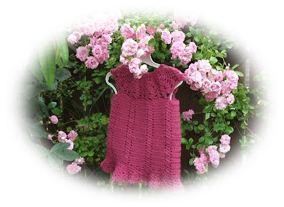 baby,crochet,easy,dress,lacy,cute,free pattern
