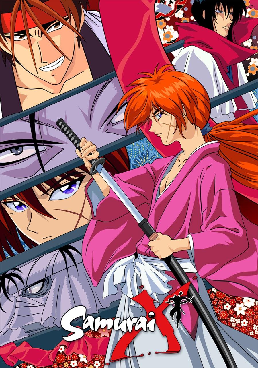 36+ Baru Gambar Kartun Samurai X Romantis