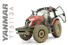Build Review: 1/35th scale Yanmar YT5113A Tractor from Hasegawa