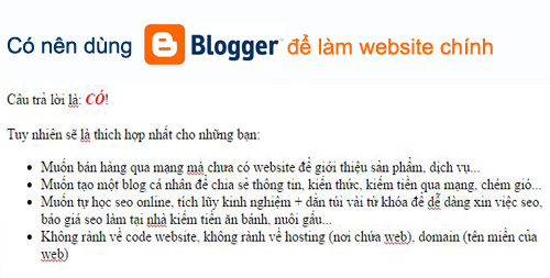 co nen dung blogspot de lam website chinh