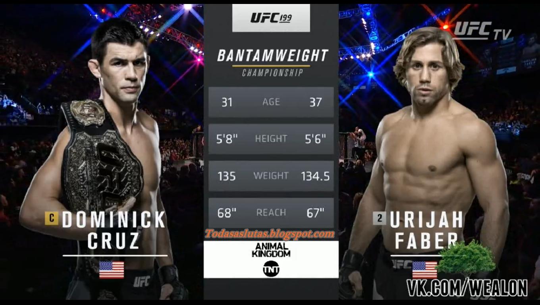 UFC 207 Free Fight: Dominick Cruz vs Urijah Faber 3 : MMA