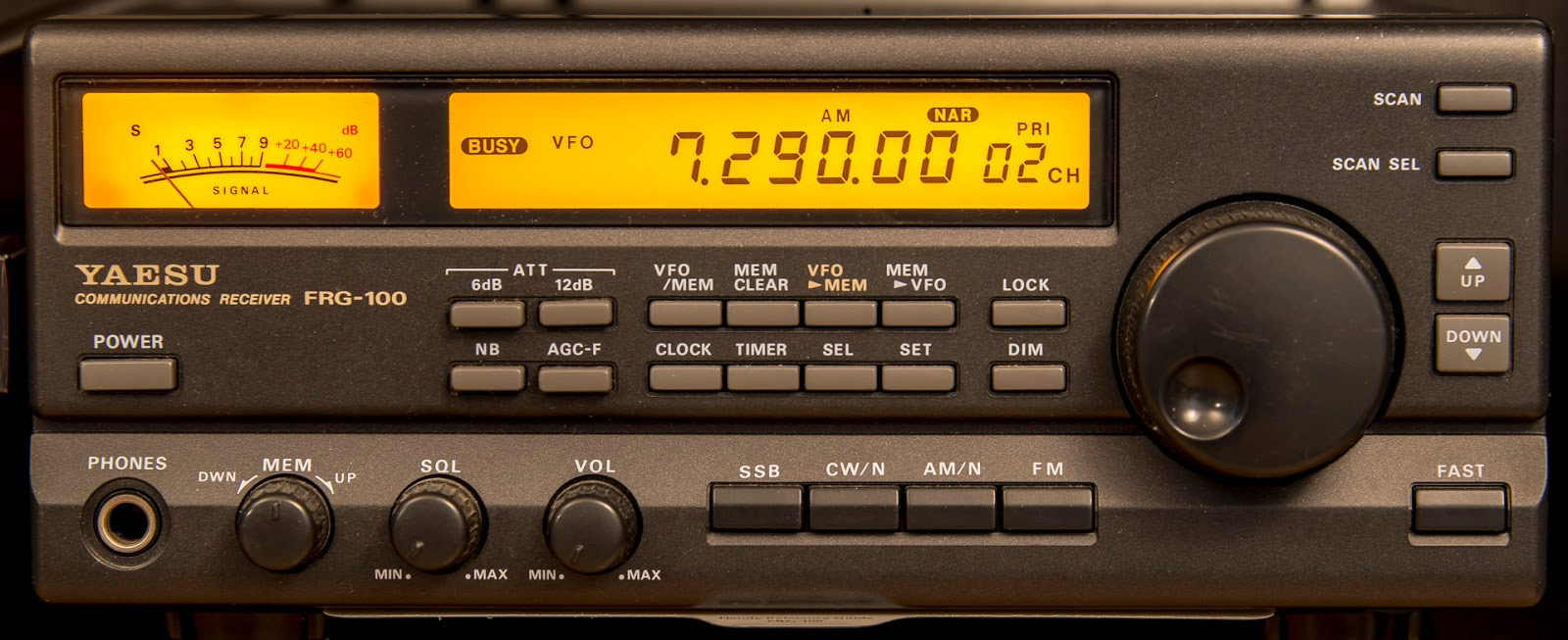 Retro receiver review 12 the yaesu frg 100 mount evelyn dx report retro receiver review 12 gumiabroncs