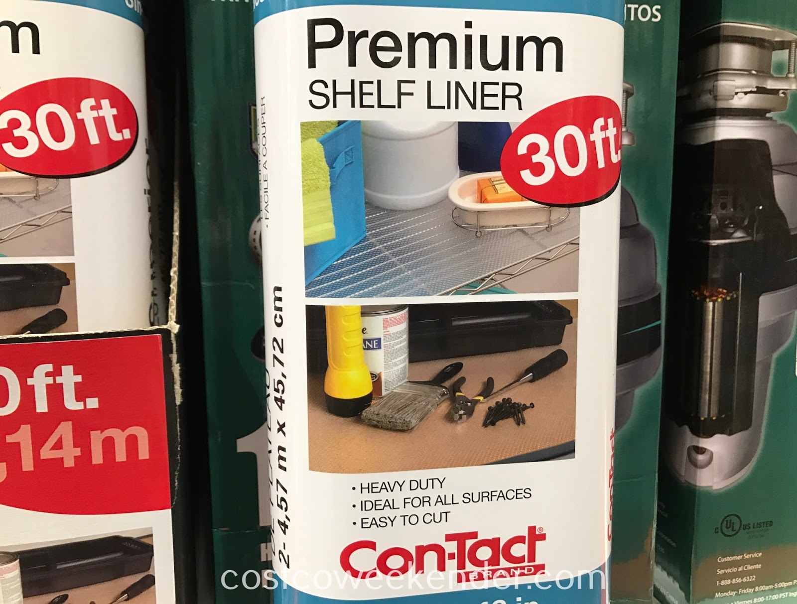 Costco 1171570 - Con-Tact Premium Shelf Liner: practical for any home