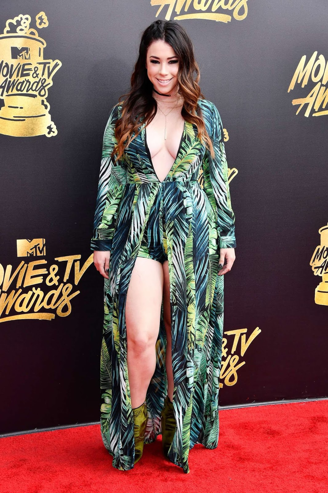 Jillian Rose Reed – 2017 MTV Movie And TV Awards in Los Angeles