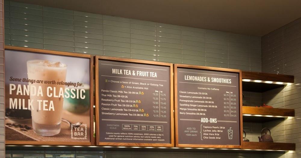 First Panda Express + Tea Bar Restaurant Opens in California   Brand Eating