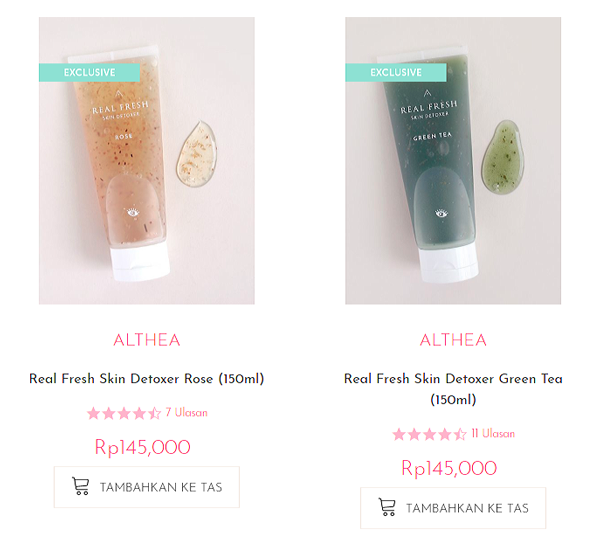 Althea Real Fresh Skin Detoxer