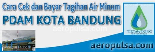 Cara cek dan bayar tagihan rekening PDAM Kota Bandung