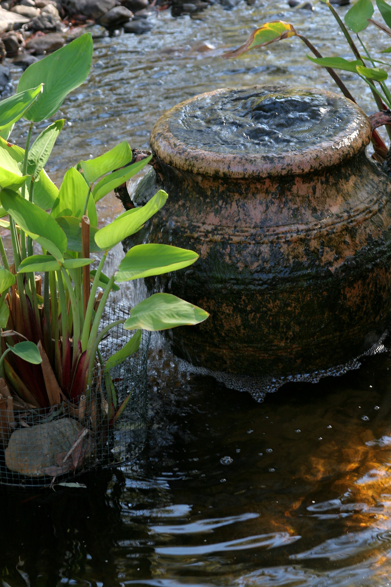 Ideas for quiet outdoor spaces - Garden water feature ideas ...