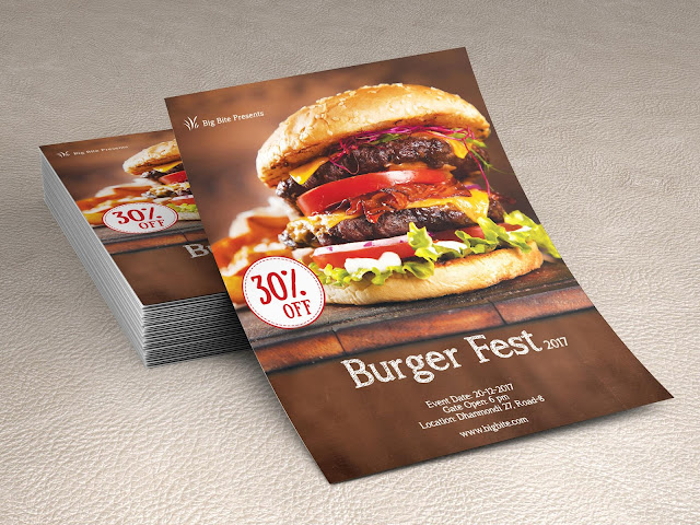 Creative-Professional-Food-Flyer-Logo-Design