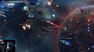 لعبة حرب المجرات Galaxy Reavers-Space RTS