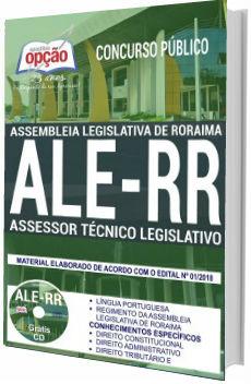 Apostila ALE-RR 2018 Assessor Técnico Legislativo