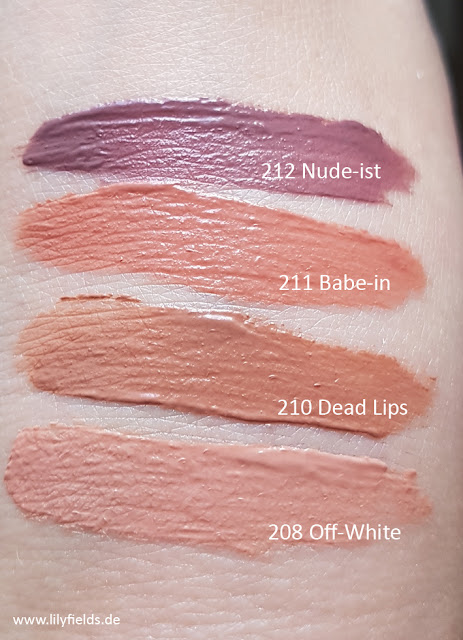 Infaillible Lip Paints