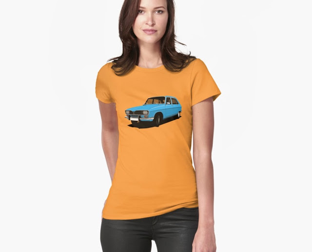 Renault 16 classic car T-shirts