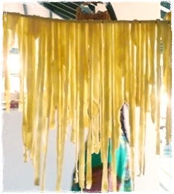 pasta-drying
