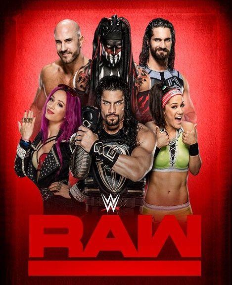WWE Monday Night Raw (16 March 2020) English 350MB HDTV 480p