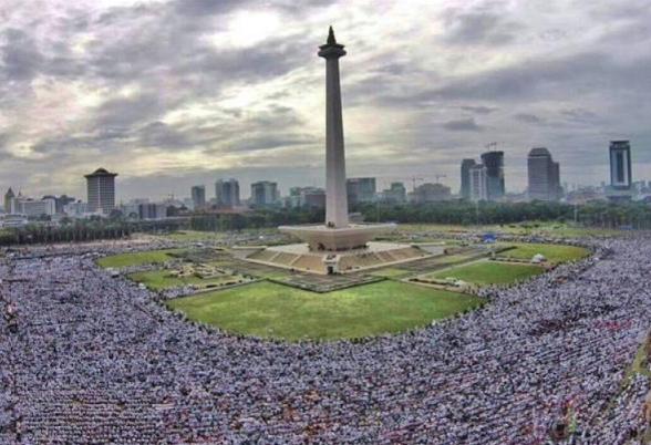 Reuni Akbar Aksi 212, Umat Islam Solo Raya Berangkat ke Jakarta dengan 50 Bus