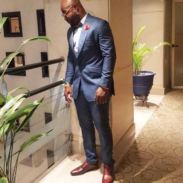 Kcee and Harrysong step out in dapper outfits for AMAA 2016