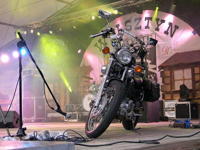 scena w Wolsztynie podczas siódmego festiwalu Czyste Country
