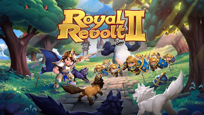 لعبة القلاع الإستراتيجية Royal Revolt 2 كاملة للأندرويد